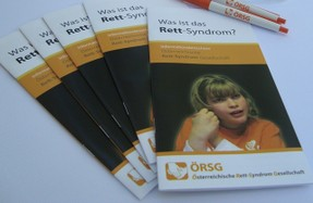 Folder der österreichischen Rett-Syndrom Gesellschaft
